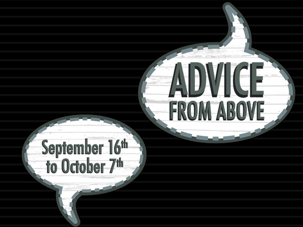 """Featured image for """"Advice From Above"""""""
