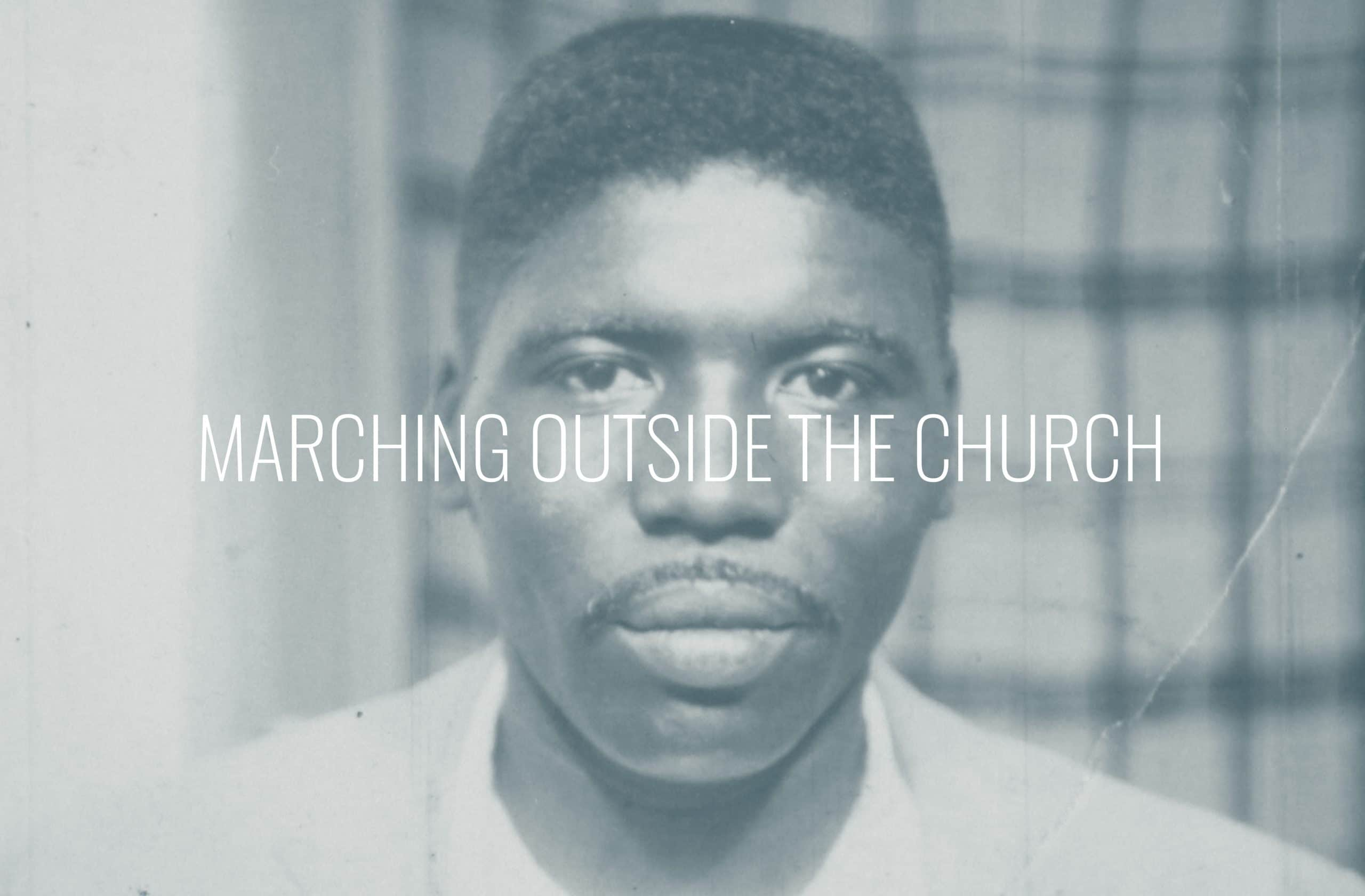 """Featured image for """"Marching Outside The Church"""""""